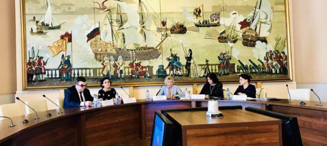 Отчетная конференция по развитию предпринимательства в Василеостровском районе